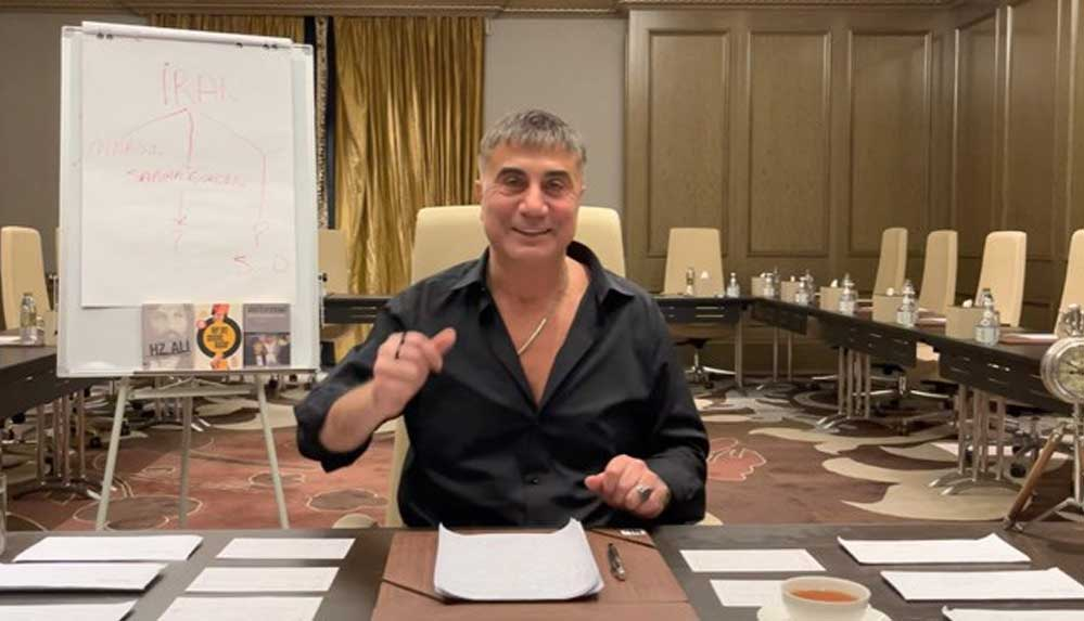 Sedat Peker CHP'ye seslendi: O bankada ne işi var hiç soruyor musunuz?