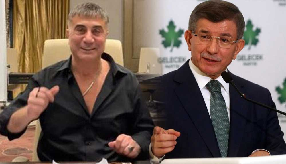 Sedat Peker'den Ahmet Davutoğlu'na açıklamalarına yanıt