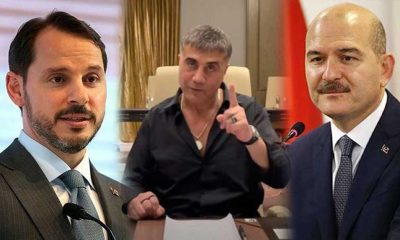 Sedat Peker'den, Berat Albayrak açıklaması: Soylu için düşman olduk