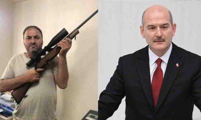 Soylu'ya silahla destek veren din öğretmeni hakkında inceleme