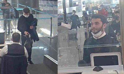Thodex'in sahibi Faruk Fatih Özer'in yurt dışına kaçışının görüntüleri ortaya çıktı
