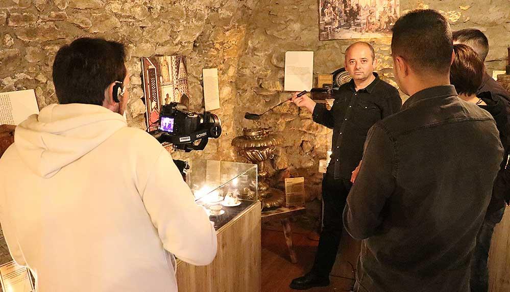 Türk kahvesinin tarihi Ukrayna'da gösterilecek belgesel ile anlatılacak