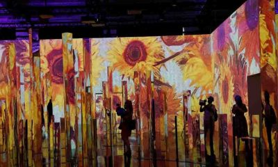 Vincent van Gogh sergisinde teknoloji ve sanat birleşti