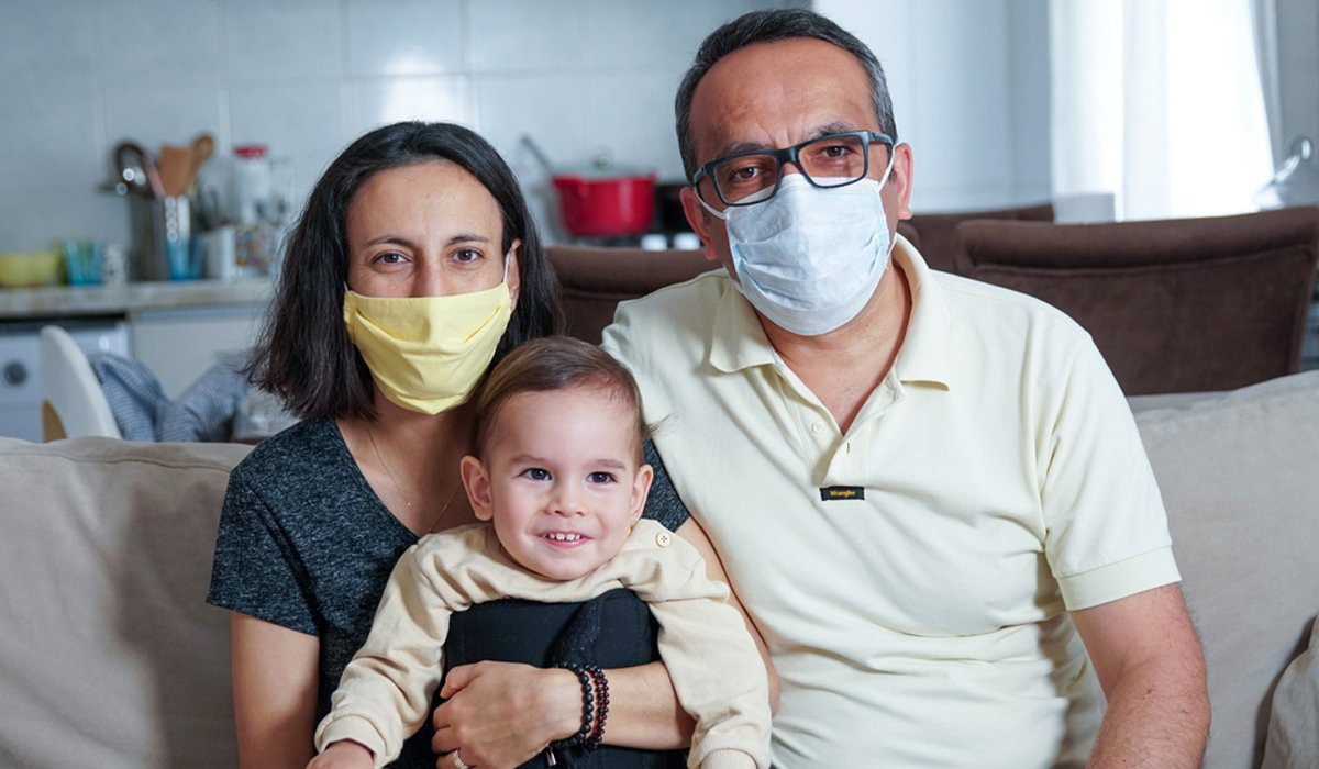 SMA hastası Ayaz bebeğin tedavisi için günler azalıyor