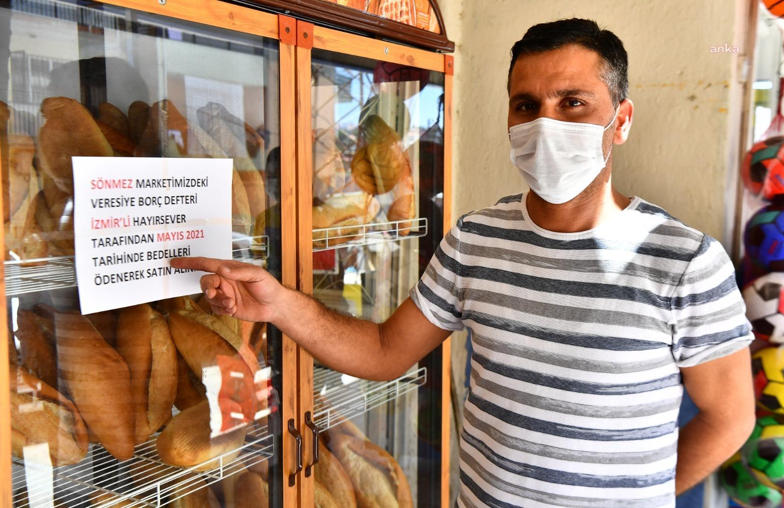 İzmir'de veresiye defterlerinden 1 milyon 300 bin liralık borç silindi