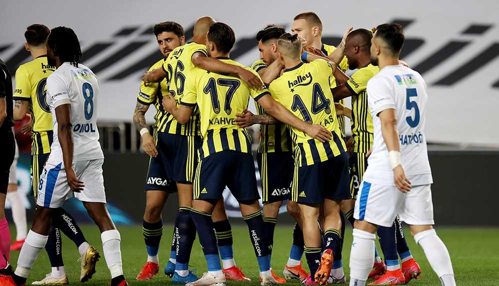 Fenerbahçe BB Erzurumspor'u 3 golle geçti, zirve takibine devam dedi