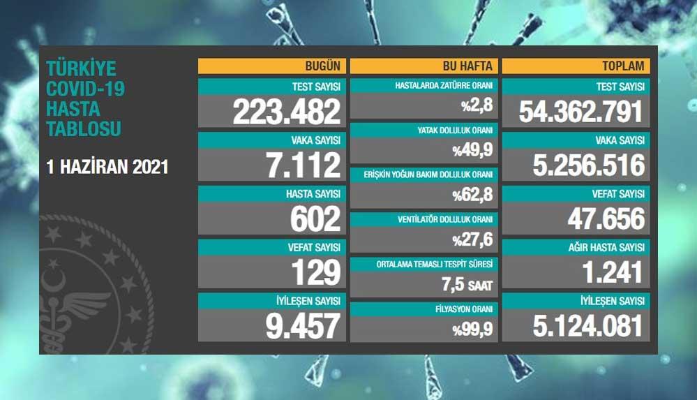 Türkiye'nin 1 Haziran koronavirüs tablosu açıklandı