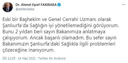 AKP'li Fakıbaba'dan sağlık sistemi itirafı: 2 yıldır anlatamadım, sistem yönetilemiyor