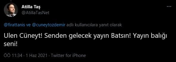 """Cüneyt Özdemir'in 'homurdanmayın' sözlerine sanatçılardan sert tepki: """"Yayınını da al git!"""""""