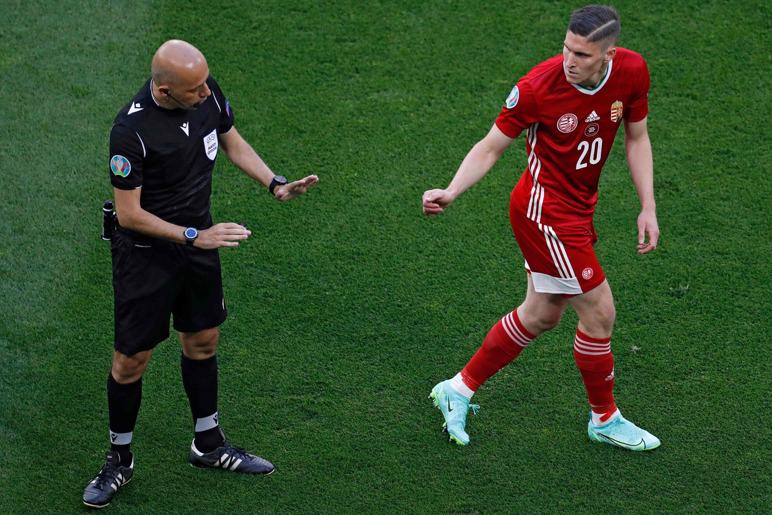 Cüneyt Çakır, Macaristan - Portekiz maçına damga vurdu: Ronalda çılgına döndü!