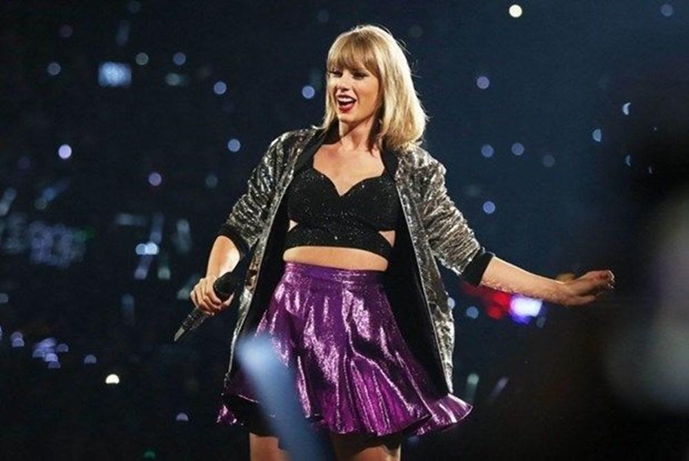 Taylor Swift'ten plak rekoru