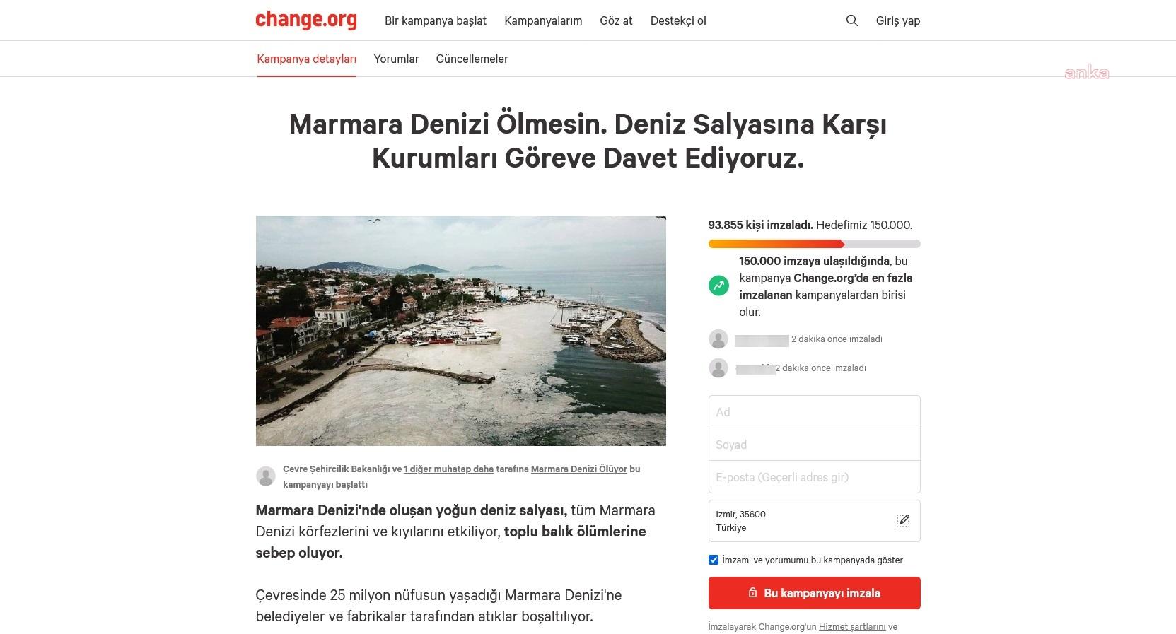 WWF Türkiye'nin 'müsilaj' kampanyasına destek büyüyor