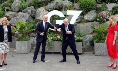 ABD Başkanı Biden, İngiltere Başbakanı Johnson'la görüştü
