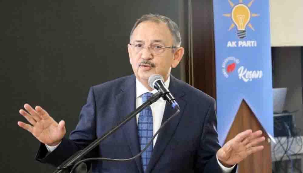AKP'li Özhaseki'den 'erken seçim' açıklaması