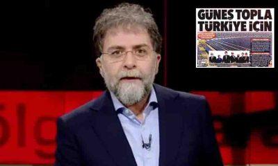 Ahmet Hakan'dan 'Güneş Topla Türkiye İçin' manşeti için savunma: Bunları kim yaparsa Hürriyet'e manşet olur