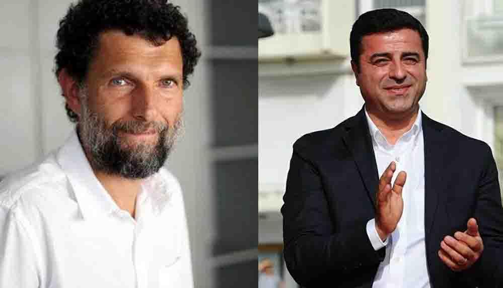 Avrupa Konseyi'nden Kavala ve Demirtaş için Türkiye'ye yönelik ihlal prosedürü