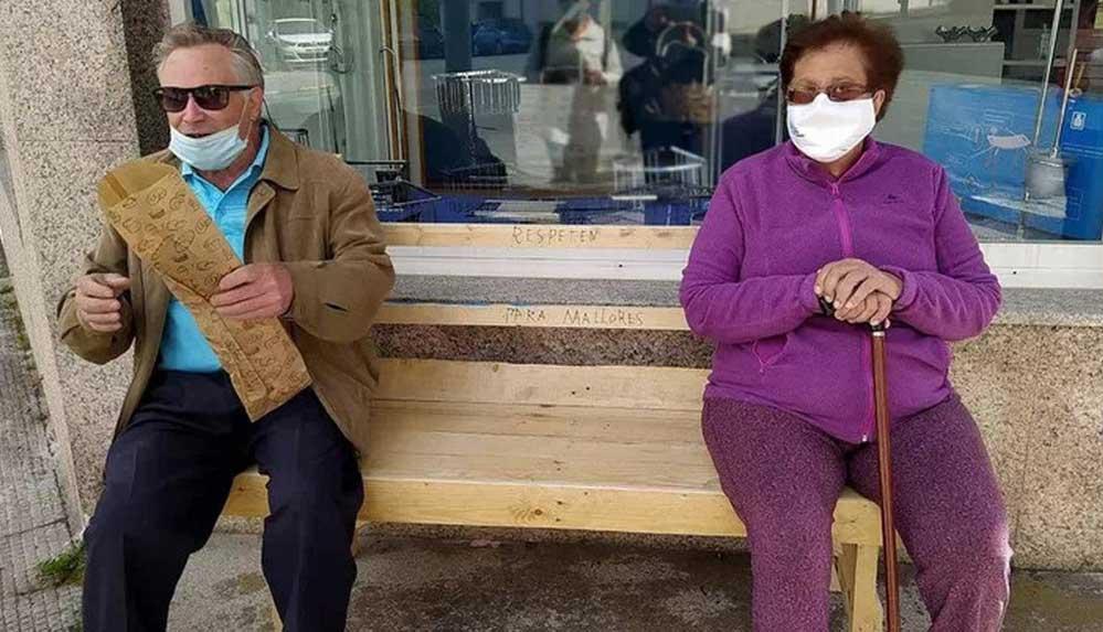 Belediyeye kızan 82 yaşındaki adam, eşi için yarım saatte bank yaptı