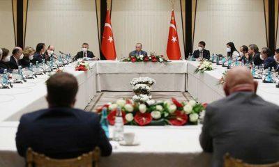 Beştepe'de müsilaj zirvesi: Sonuç bildirgesi açıklandı