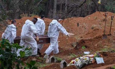 Brezilya'da koronavirüsten can kaybı 500 bine dayandı