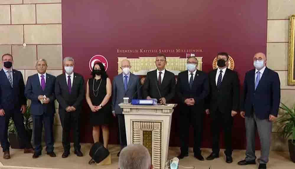 CHP'den 189 maddelik yargı paketi çağrısı