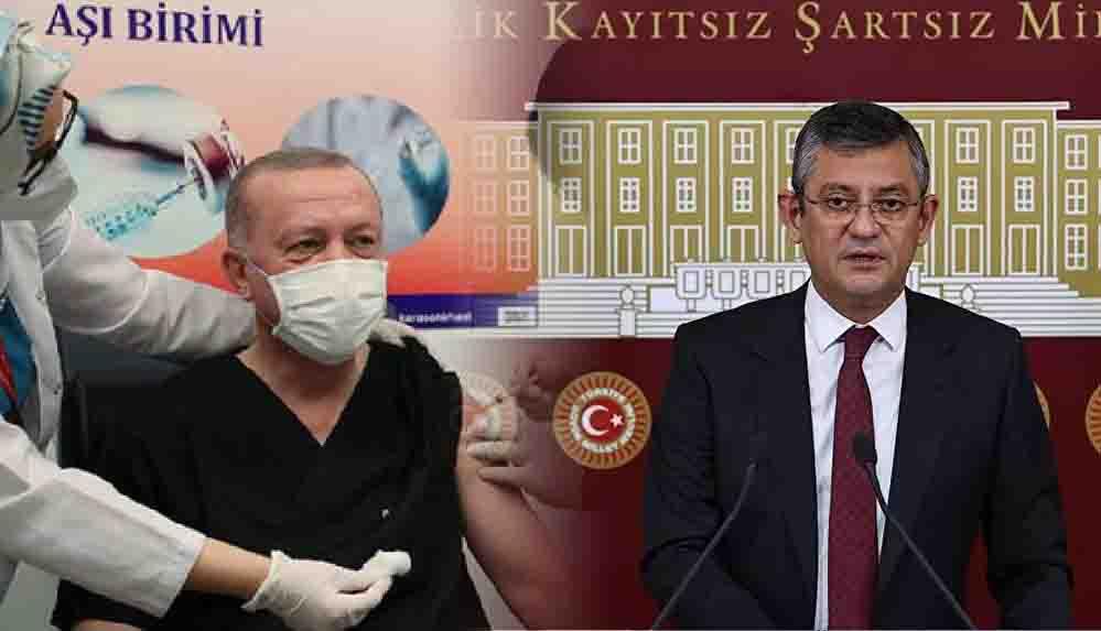 CHP'li Özel'den Erdoğan'a 'üçüncü doz aşı' tepkisi: Sağlık çalışanlarından önce bu aşıyı vurulma hakkını neredenbuldun?
