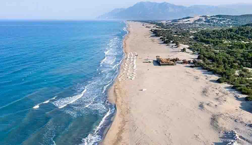 Çevre ve Şehircilik Bakanlığı'ndan 'Patara'dan kum çalındı' iddiasıyla ilgili açıklama