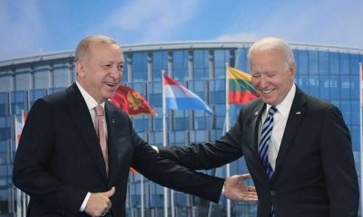 Cumhurbaşkanı Erdoğan, Biden ile görüşmesinin ardından açıklamalarda bulunuyor