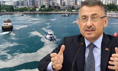 Cumhurbaşkanı Yardımcısı Fuat Oktay, müsilaj sorununu CHP'ye bağladı!