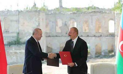 Erdoğan: Türkiye olarak kadim şehir Şuşa'da en kısa sürede bir başkonsolosluk açmayı planlıyoruz
