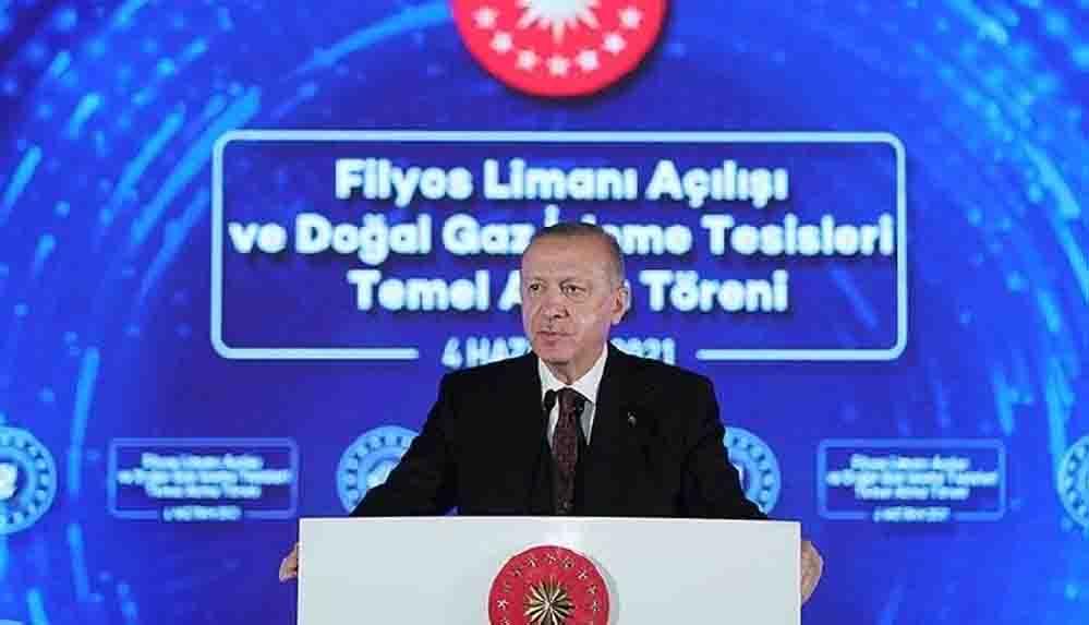 Erdoğan 'müjde'yi duyurdu: 135 milyar metreküplük yeni bir doğal gaz keşfi