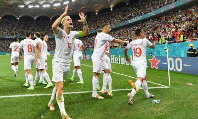 Fransa'yı penaltılarda 5-4 yenen İsviçre çeyrek finalde
