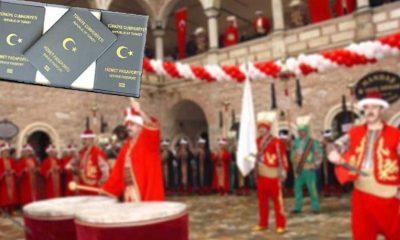 """Gri pasaport skandalında son perde: """"MHP'li Karataş Belediyesi'nden olmayan mehter takımıyla 30 ileri 10 geri"""""""