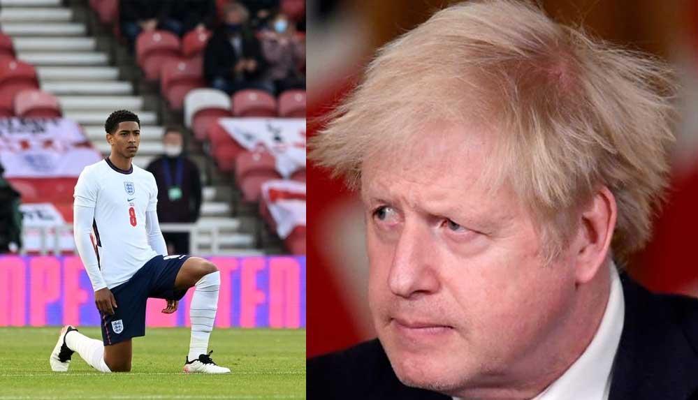 İngiltere Başbakanı Johnson, 'diz çökme' eylemi yapacak milli takım oyuncularının yuhalanmamasını istedi