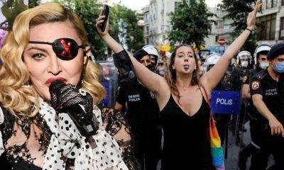 İstanbul Onur Yürüyüşü görüntülerini paylaşan Madonna: Neden bu kadar çok polis var?
