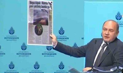 İBB Meclisi CHP Sözcüsü Balyalı: Müsilaj AKP'nin çevre konusundaki ustalık eseridir