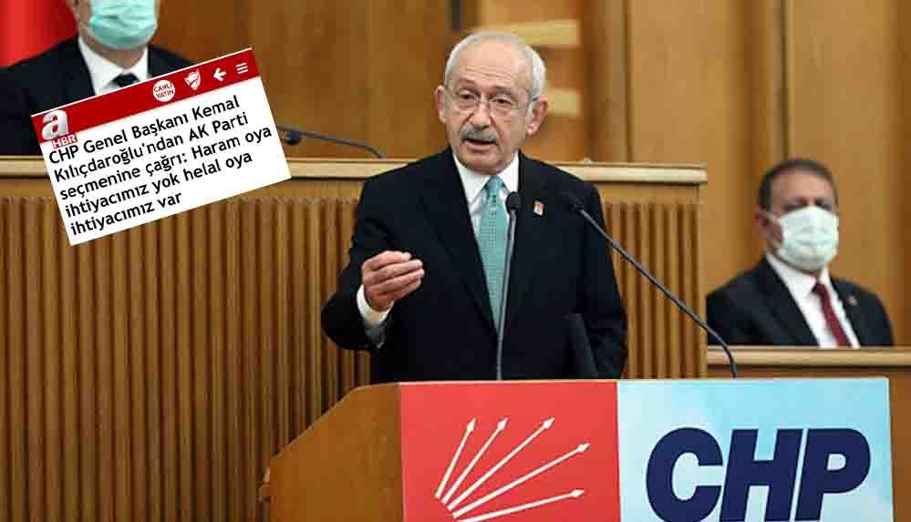 Kılıçdaroğlu'ndan A Haber'e tepki: Ak Parti seçmenine hakaret etmişler