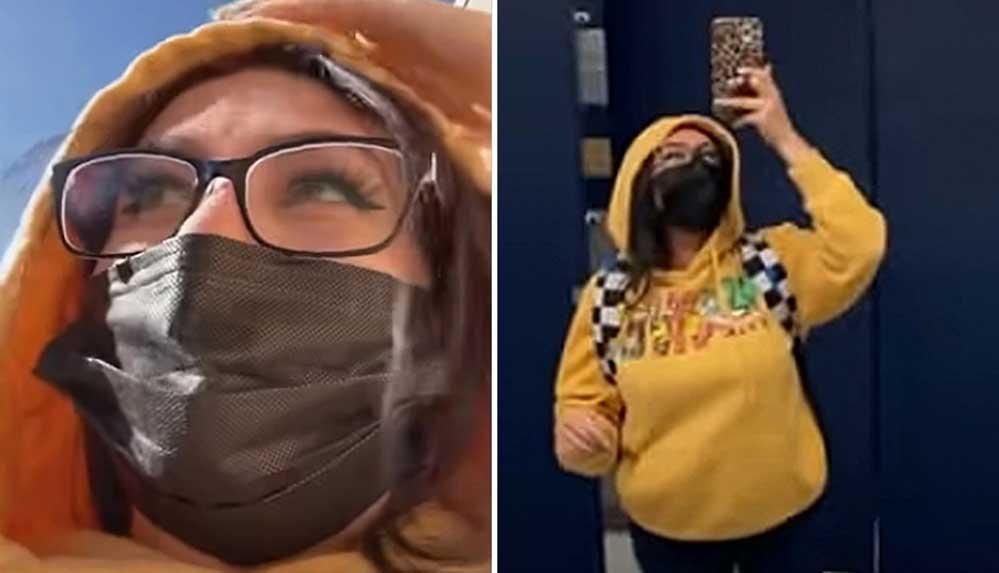 Kızının kılığına girip okuluna giden anne gözaltına alındı
