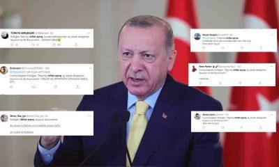 'Millet açmış' diyen Erdoğan'ın sözleri sosyal medyayı ayağa kaldırdı!