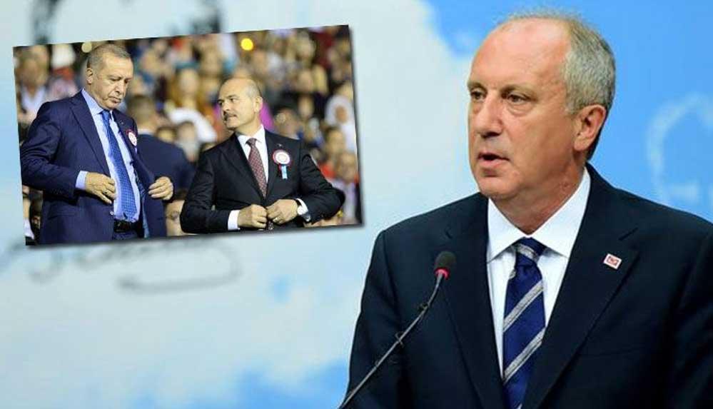 """Muharrem İnce: Soylu, Erdoğan'a """"Beni korumazsan açıklarım"""" diyor"""