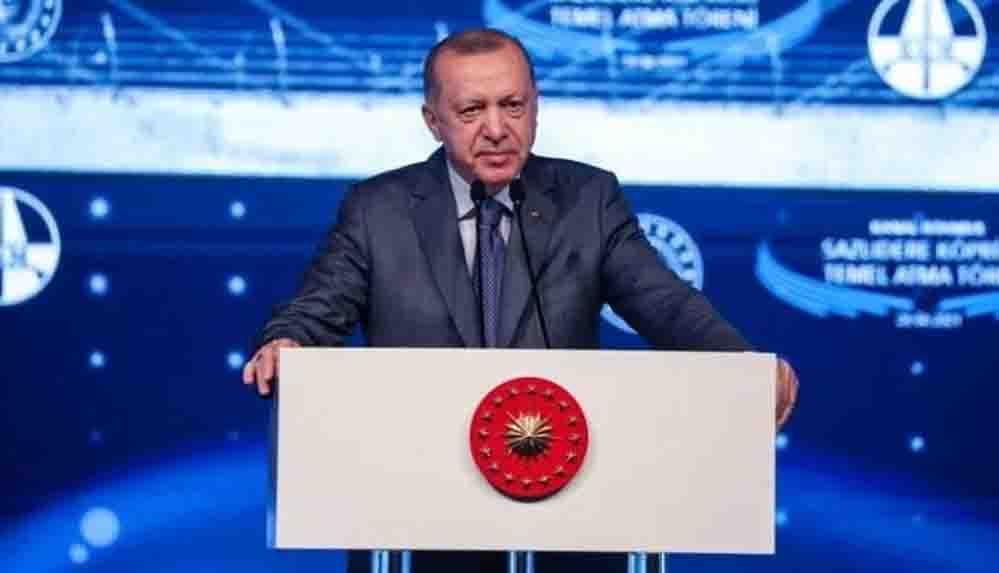 Cumhurbaşkanı Erdoğan: Merkez Bankası rezervlerimiz 109 milyar dolar seviyesinde