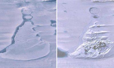 NASA verileri ortaya çıkardı: Antarktika'da devasa bir göl aniden yok olmuş