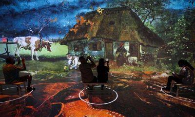New York'ta dijital Van Gogh sergisi kapılarını ziyarete açtı