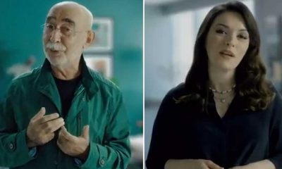 Sağlık Bakanlığı'ndan Ezgi Mola ve Şener Şen'li kamu spotu: 'Mutlaka aşınızı yaptırın'