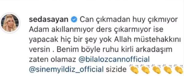 Seda Sayan'dan Mehmet Ali Erbil hakkında tecavüz iddiası