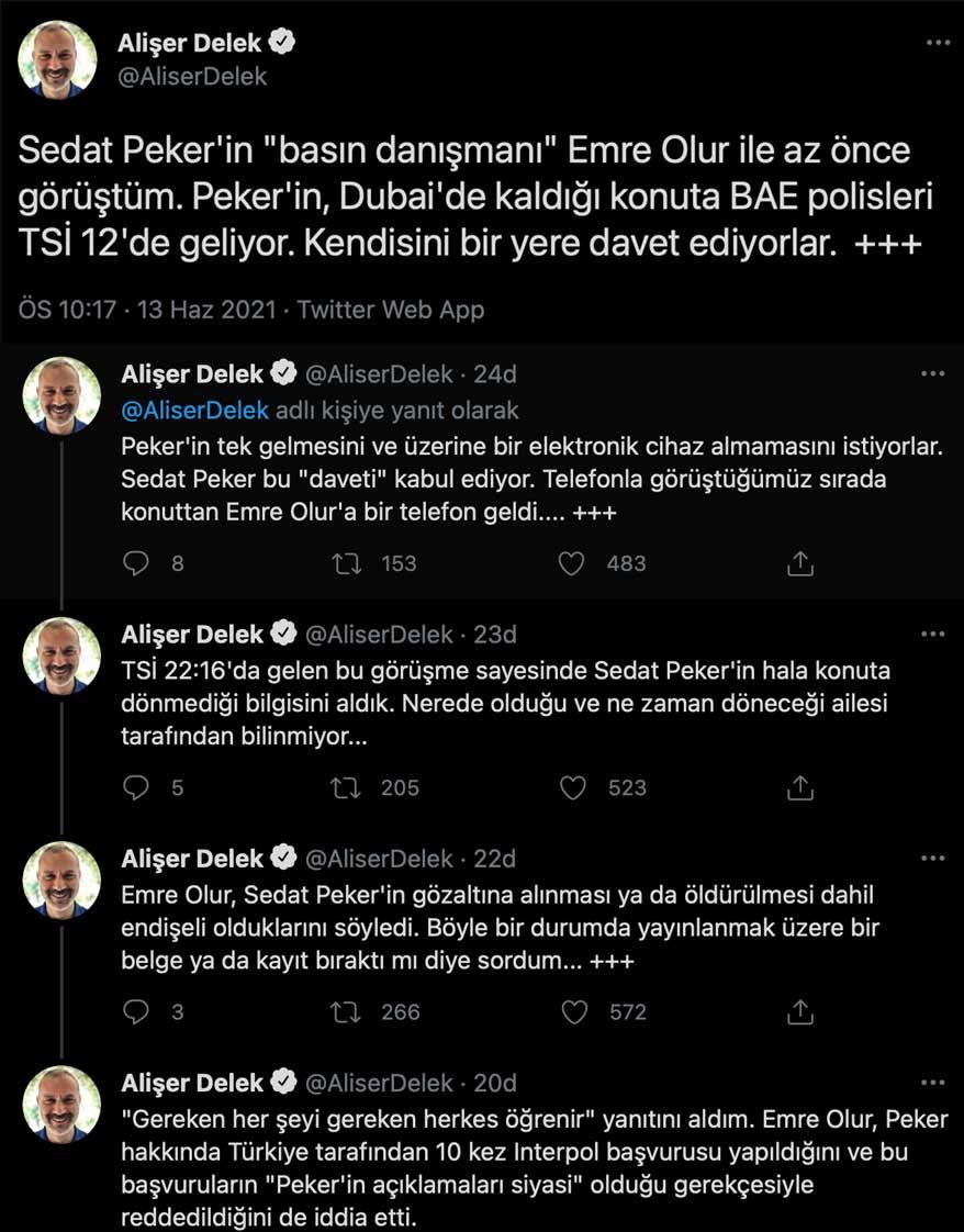 """Sedat Peker hakkında yeni açıklama: """"Can güvenliğinden endişe ediyoruz!"""""""