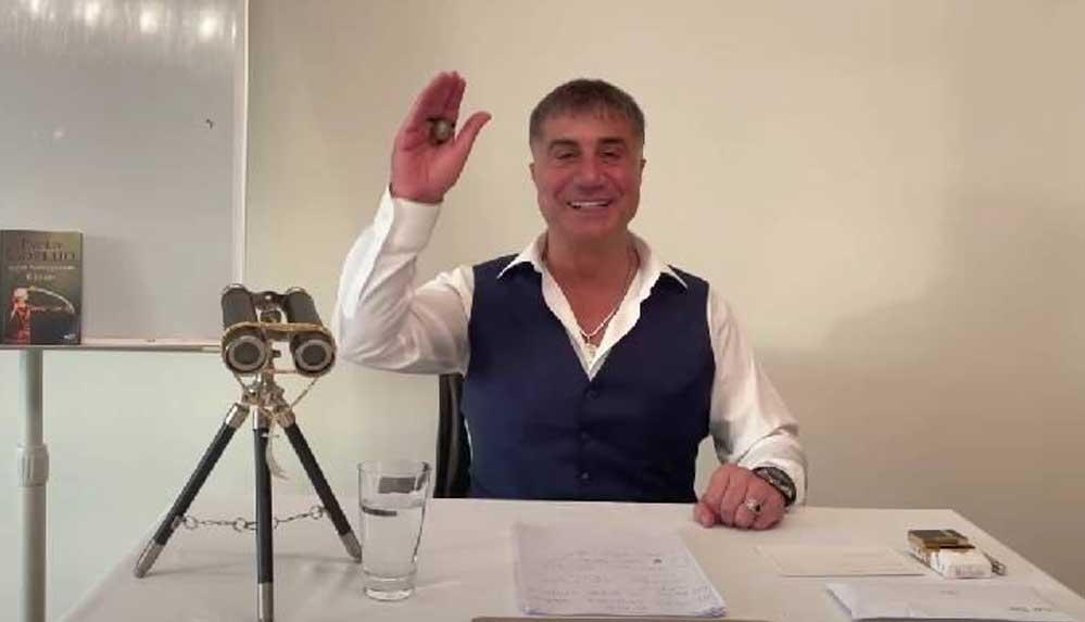 Sedat Peker'den 'kokain' iddiası: İspatlarıyla, keyifle anlatacağım