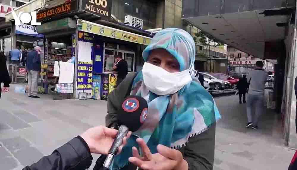 Sokak röportajında konuşan 69 yaşındaki yurttaş isyan etti: Ekonomi büyüdüyse neden perişanız?