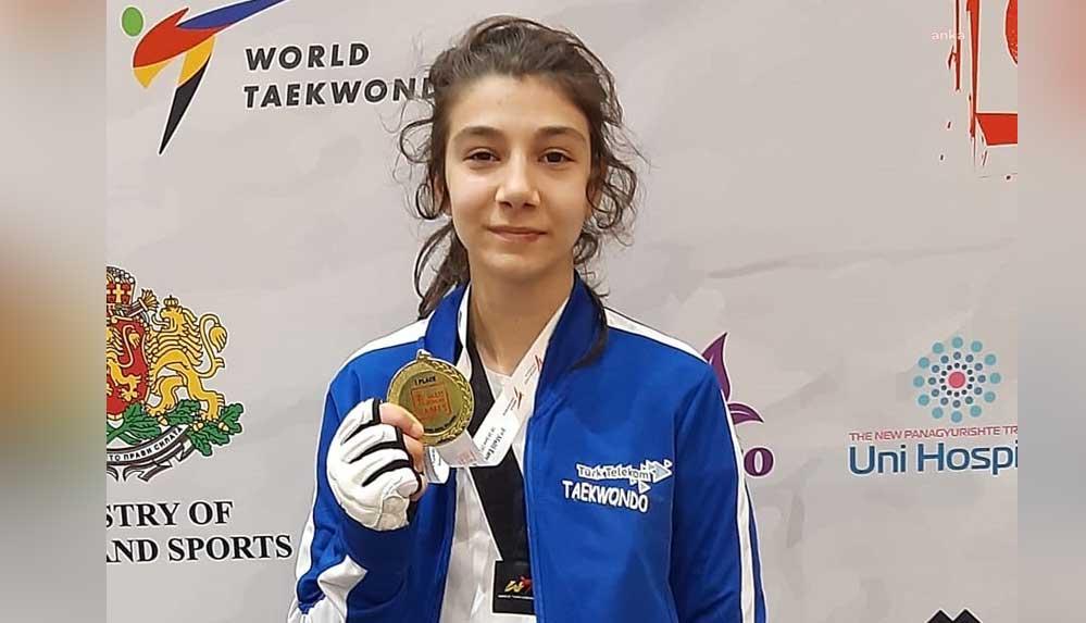 Tekvandocu Hayrunnisa Gürbüz Avrupa Şampiyonu oldu