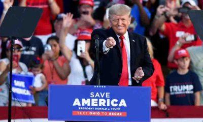 Trump, Beyaz Saray'dan ayrıldıktan sonra ilk mitingini yaptı: Amerika'yı geri alacağız