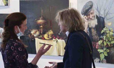 'Türkiye'de Rus ressamları sergisi' Ankara'da açıldı